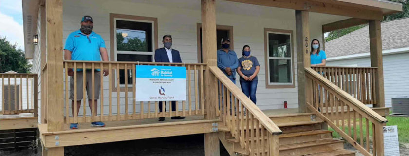 New House built by Habitat for Humanity